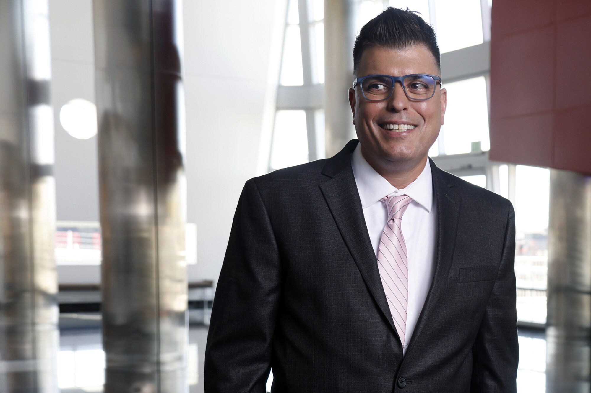 Carlos Cortez, who has been named chancellor of the San Diego Community College District