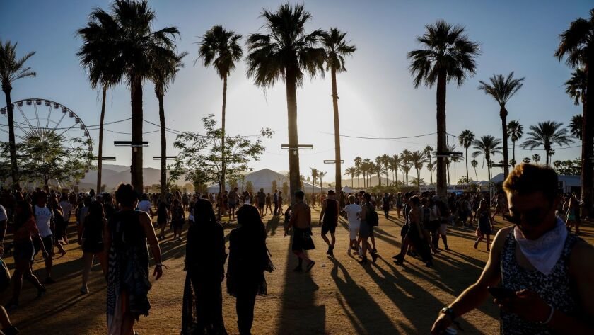 YouTube will stream some of the marquee performances at this month's Coachella music fest in Indio.