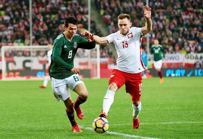 0-1. Raúl Jiménez da a México triunfo sobre Polonia en partido de preparación