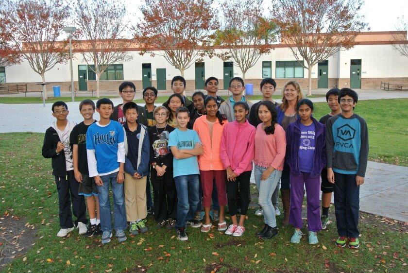 Carmel Valley Middle School creates Robotics Club - Del Mar