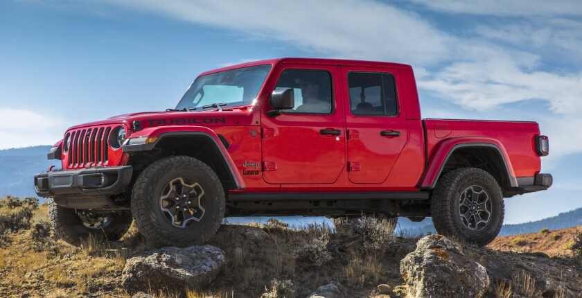 The 2020 Jeep Gladiator Launch Edition, $61,680, will be limited to 4,190 trucks.
