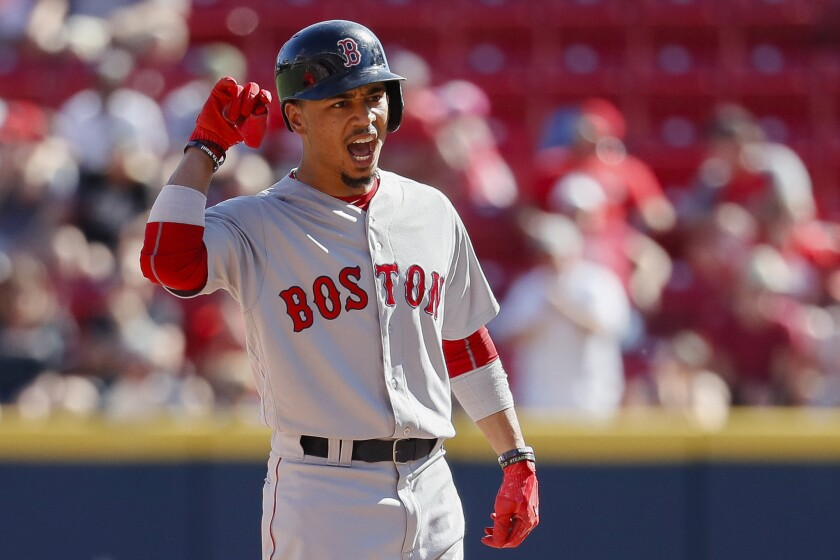 Boston's Mookie Betts likely will end up in Los Angeles, should the delayed trade finally come to fruition. Minnesota reportedly has pulled out of the deal.