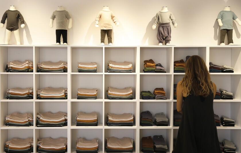 PACIFIC PALISADES-CA-SEPTEMBER 23, 2018: Toronto-based mini mioche opens it's first U.S. location at