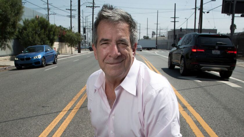 LOS ANGELES, CALIF. - SEPTEMBER 07, 2017: John Rossant, who heads LA Commotion, a multi day transpor