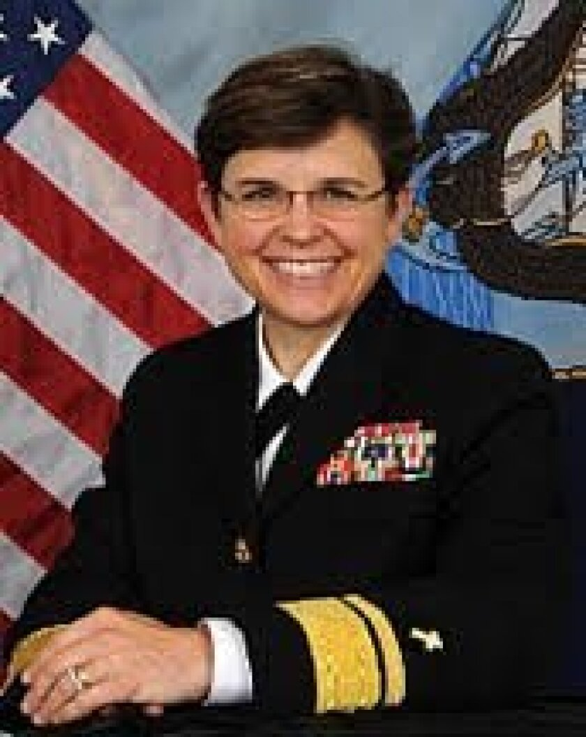 U.S. Navy Rear Admiral Margaret G. Kibben, Chaplain Corps. Courtesy photo