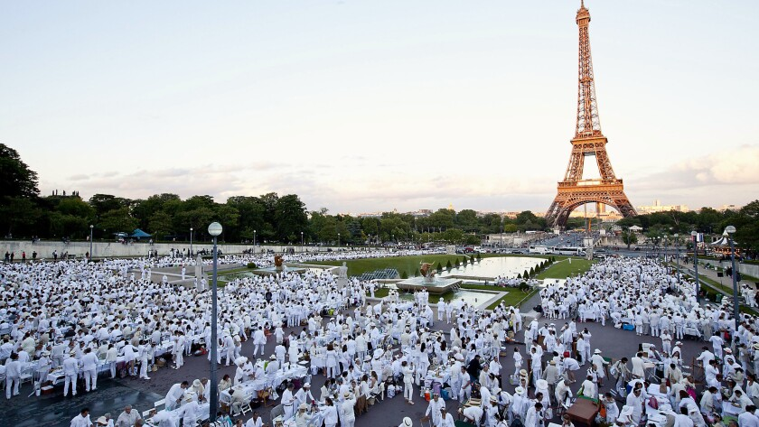 Le Diner en Blanc in Paris