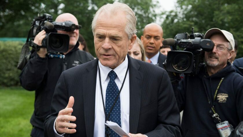 White House  trade advisor Peter Navarro is said to be spearheading the push to limit Chinese access to American capital.