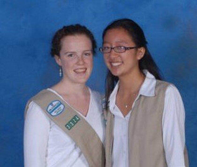 Sara Phelps and Kristi Lin