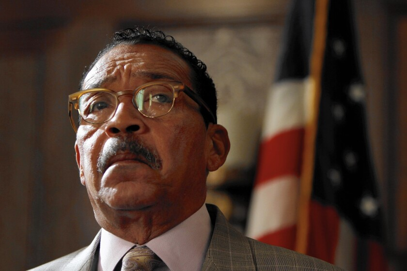 L.A. City Council President Herb Wesson has decided not to offer a lottery during the March city elections so as not to detract from what he sees as the most important issue on the ballot: switching election years.