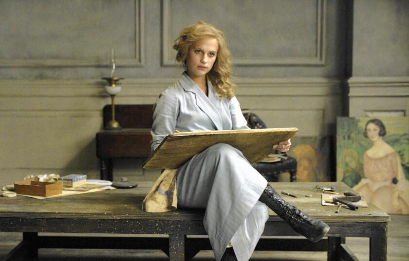 Alicia Vikander in 'The Danish Girl'