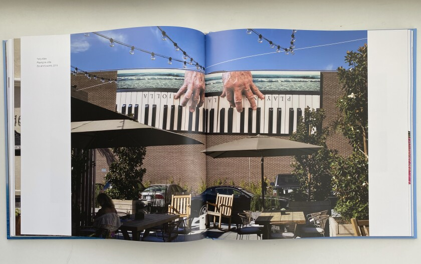 The book includes several photos of each mural, most of which were taken by Philipp Scholz Rittermann.