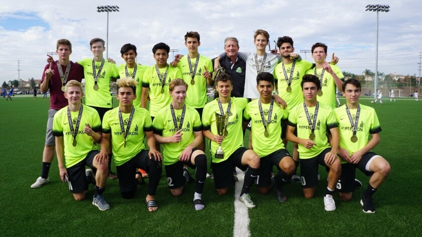 RSF Attack B98 Academy Soccer team.
