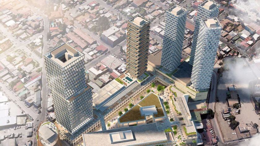 The Bajalta development will include 400 condos, a hotel and office building and mall.