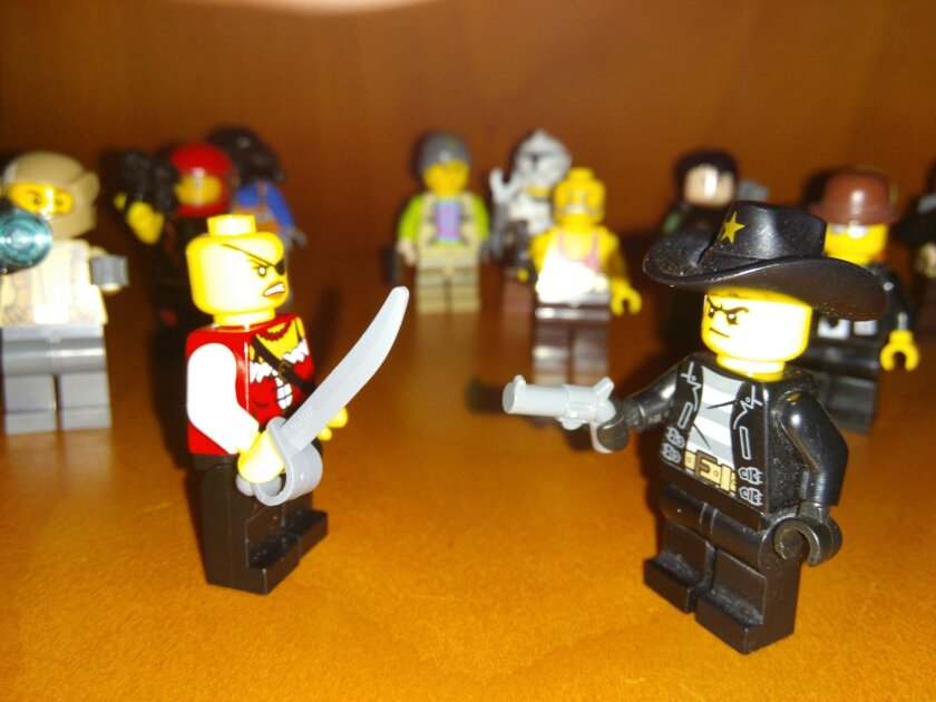 A University of Canterbury study has found increased weaponization in Lego toys.