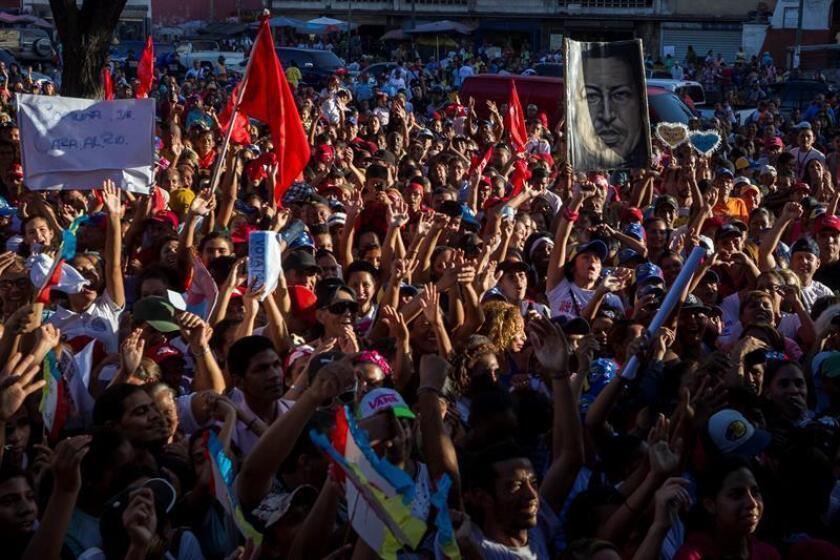 La Cámara de Representantes aprobó hoy con una amplia mayoría un proyecto de ley que plantea enviar comida y medicamentos a Venezuela. EFE/ARCHIVO