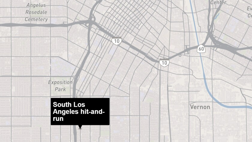 South Los Angeles hit-and-run