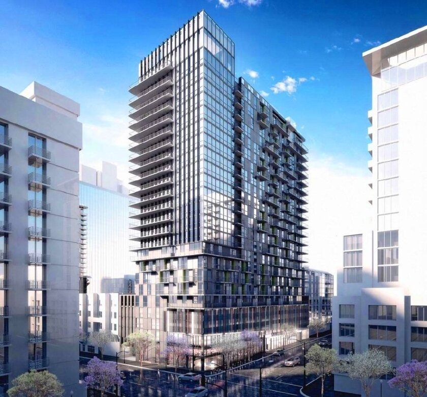 Dual 24 Story Apartment Towers Debut At 8th Spring: Officials Approve Downtown Apartment Tower