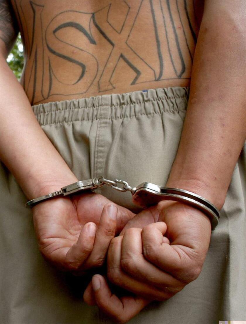 """Un expandillero hispano fue sentenciado a 24 años en prisión federal luego de declararse culpable de tráfico de drogas y admitir que asesinó a un distribuidor que no pagó """"impuestos"""" a la pandilla de las cárceles Mafia Mexicana, informó hoy la fiscalía de California. EFE/ARCHIVO"""