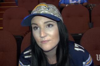Fans speak out at Los Angeles Chargers' rally