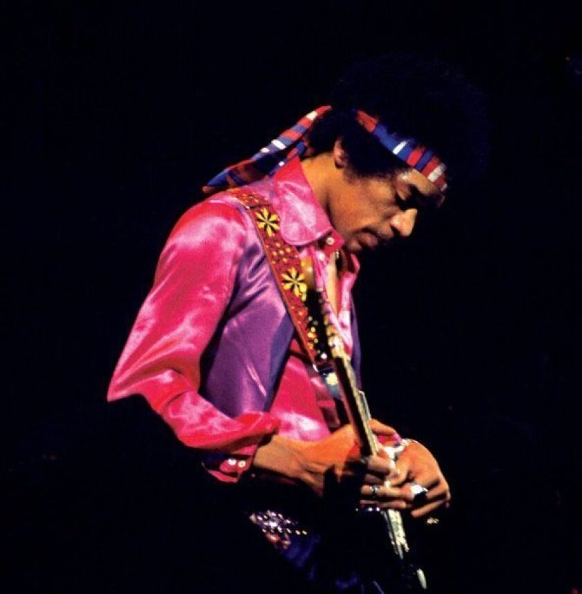 Jimi Hendrix. credit: Alan Herr/Experience Music Project/Authentic Hendrix L.L.C.