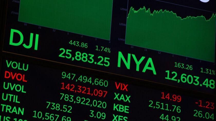 New York Stock Exchange, USA - 15 Feb 2019