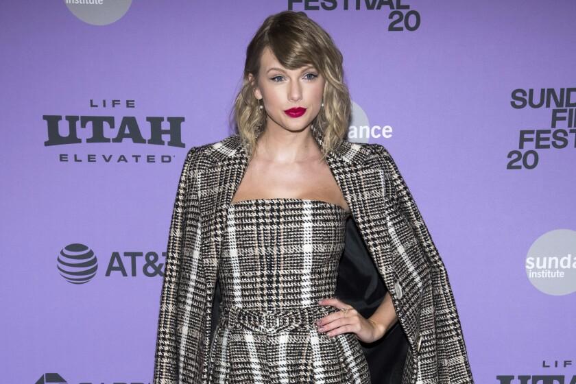 ARCHIVO - En esta foto del 23 de enero de 2020, Taylor Swift