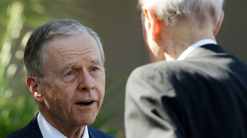 At age 83, former California Gov. Pete Wilson is waging what amounts to his last campaign, to be remembered for more than just the controversial Proposition 187.