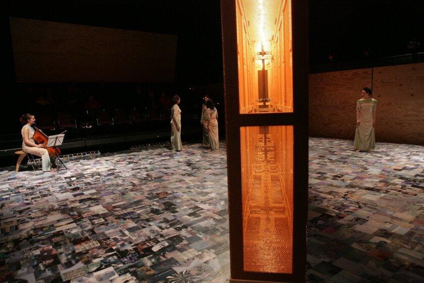"The Los Angeles based Walcott Sextet will perform Georges Aperghis' ""Sextuor: L'origine des espèces"" on Nov. 1 as part of the Glottalopticon series at Space 4 Art. Photo: Glottalopticon"