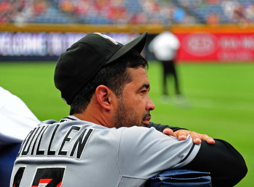 Marlins' Ozzie Guillen says he has no respect for Heath Bell