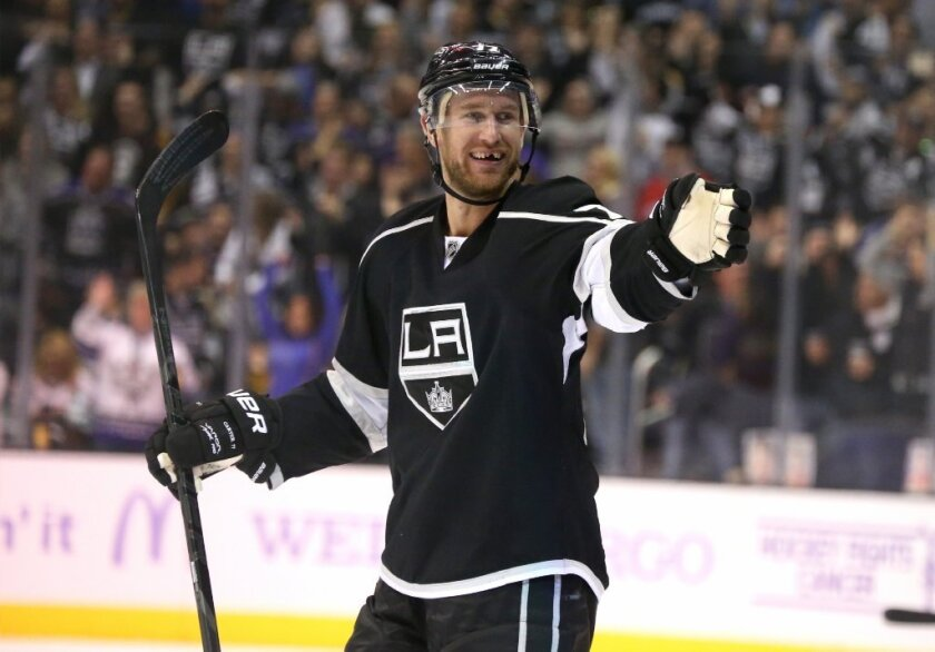 Jeff Carter of the Kings
