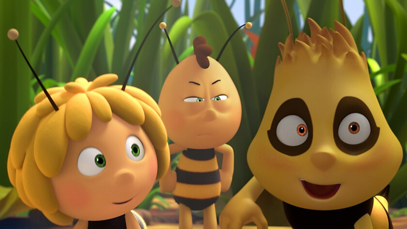 """A still from the film """"Maya the Bee Movie."""""""