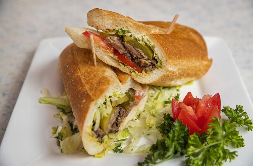 Attari Sandwich Shop beef tongue sandwich