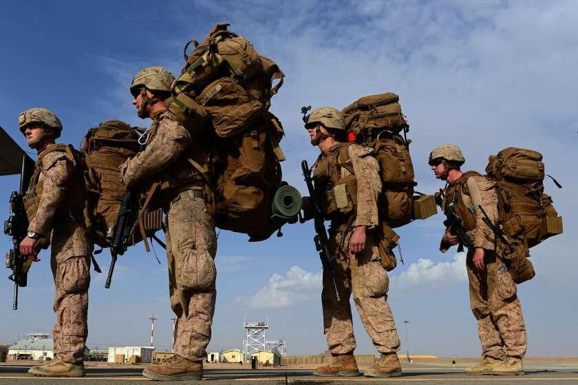 Marines in Afghanistan