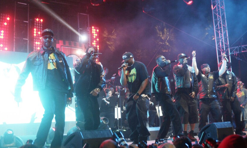 The Wu-Tang Clan are among the performers scheduled to appear at this weekend's Desert Daze Festival in Lake Perris, Calif.