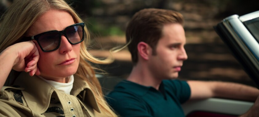 """Gwyneth Paltrow and Ben Platt in a scene from """"The Politician."""""""