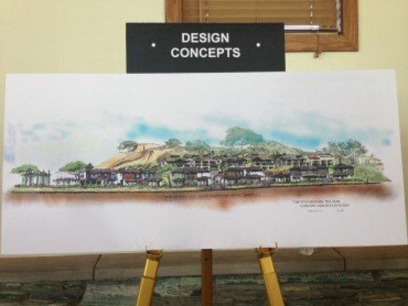 Watermark Del Mar design concept. / Kristina Houck