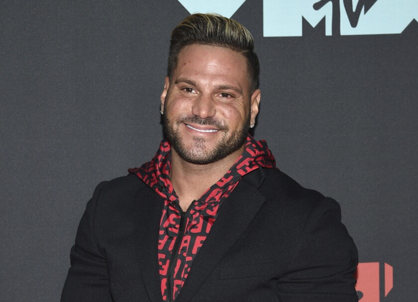 """""""Jersey Shore"""" cast member Ronnie Ortiz-Magro smiles in a 2019 photo"""
