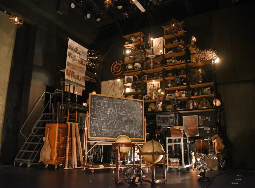 """Sebastian Peters-Lazaro's set of Four Larks' """"Frankenstein"""" at the Wallis."""
