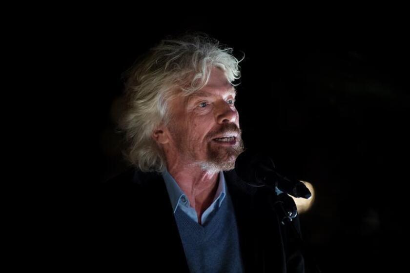 El empresario y filántropo Richard Branson. EFE/Archivo