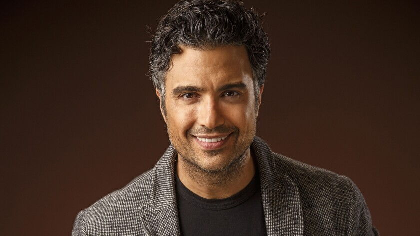 """Actor Jaime Camil, who plays the father of the title character on the TV series """"Jane the Virgin,"""" photographed in the Los Angeles Times studio on May 11, 2015."""