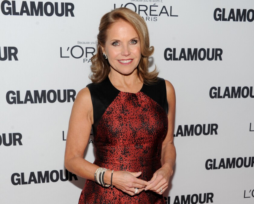Katie Couric may be on the move.