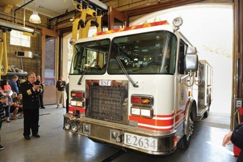 An RSF fire truck.