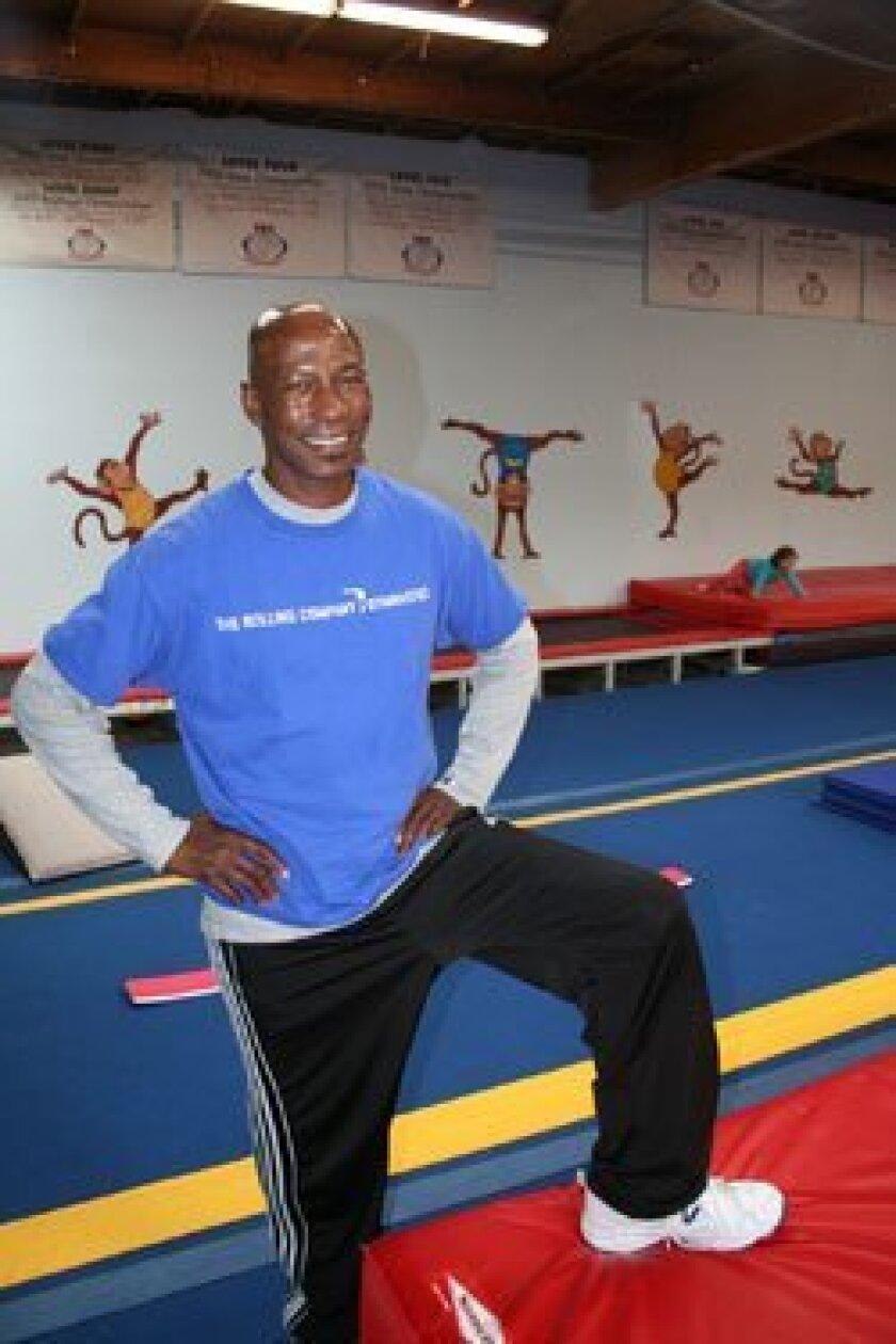 Darryl Davis has run TRC Gymnastics in Solana Beach for the last 20 years. Photo/Karen Billing