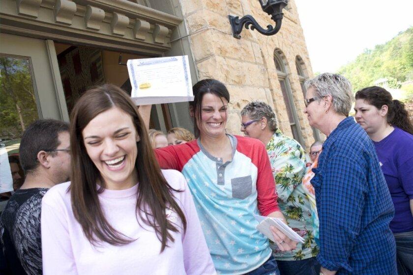 Gay marriage in Arkansas