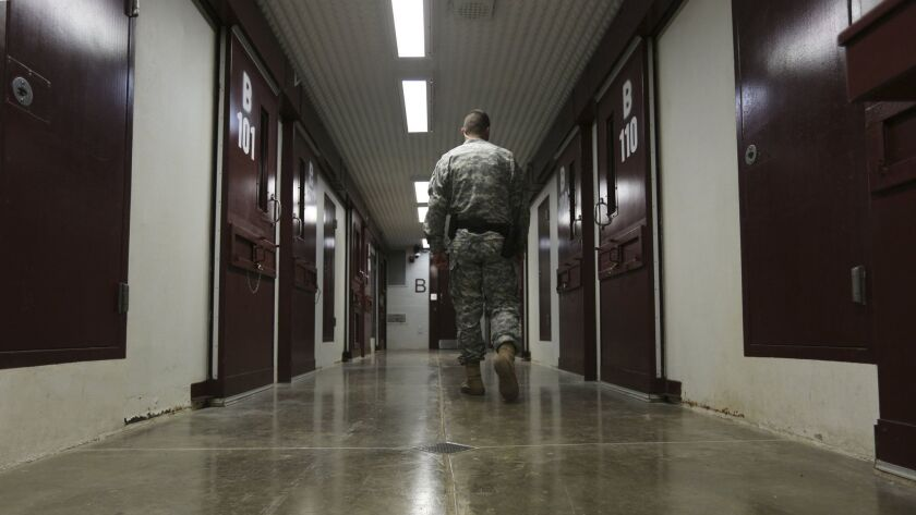 Blue is the new orange as Guantanamo preps for new prisoners, maybe Islamic State fighters