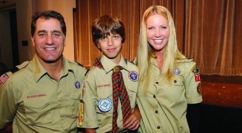 John Cappetta, Nick Macaluso, Nicole Macaluso (Photo: Jon Clark)