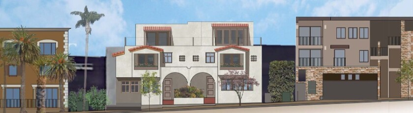 A rendering of the Conant residence project at 420 Pearl St.