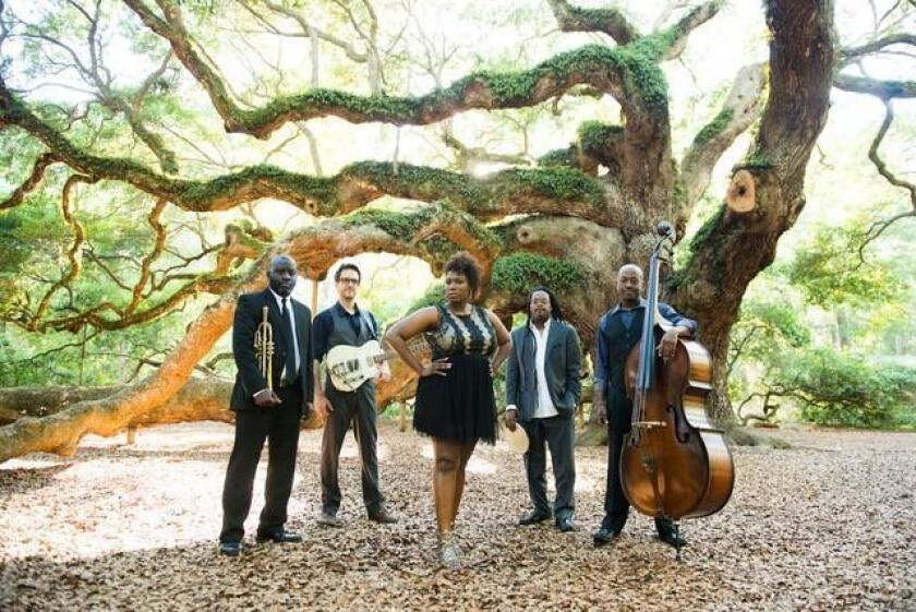 Charleston-based Ranky Tanky quartet, with Quiana Parler, appears May 4 at at UC San Diego's ArtPower concert series.