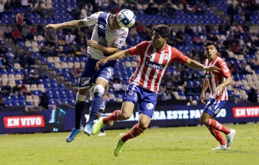 El San Luis vence 1-3 al Puebla con goles de sus refuerzos argentinos