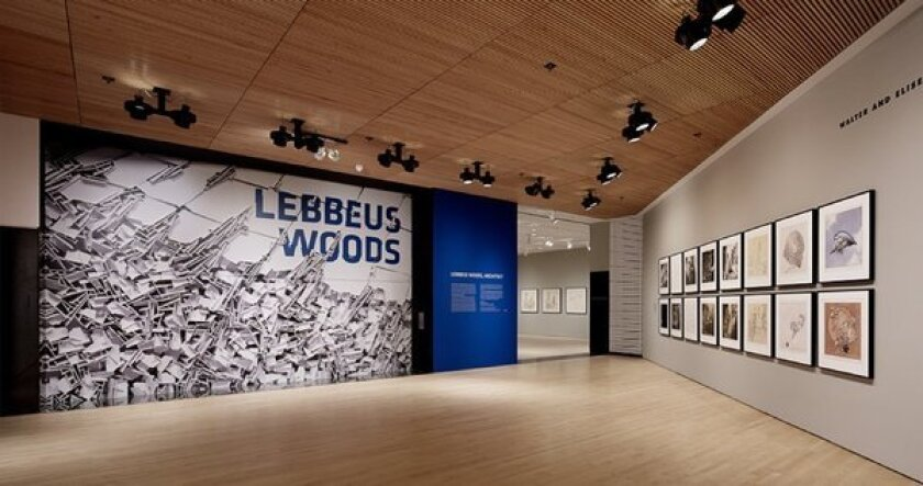 An exhibit, earlier this year, of the work of architect Lebbeus Woods at the San Francisco Museum of Modern Art. The Chronicle of Philanthropy said the museum saw the biggest improvement in charitable giving receipts in 2012 with an increase of 410% to $181 million, compared with the previous year.